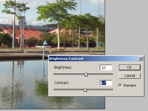 Tratamento de imagem: Iluminação