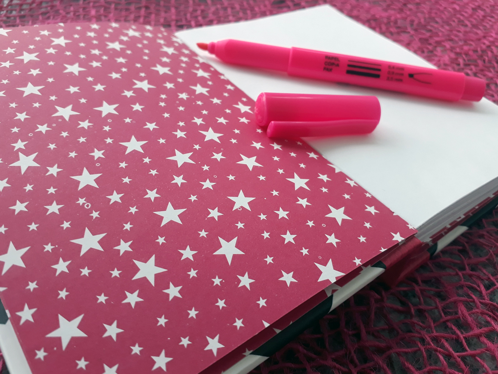 Caderno PINK is the new black