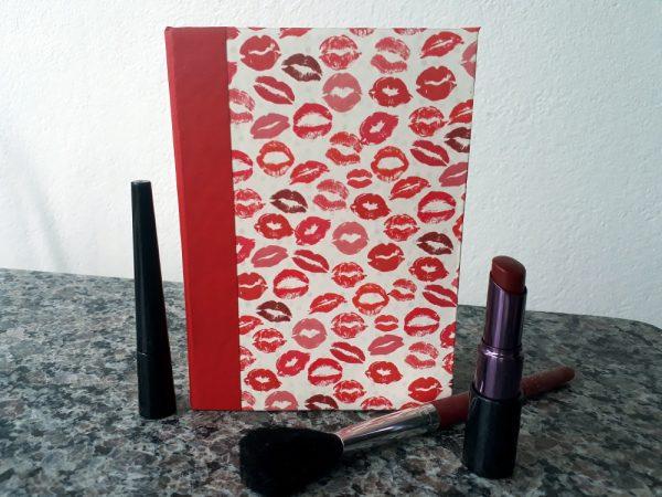 Caderno Splish-Splash (Red Lips)
