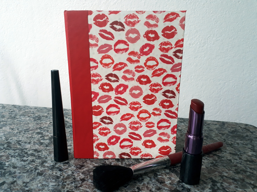 Caderno Splish-Splash (Red Lips)