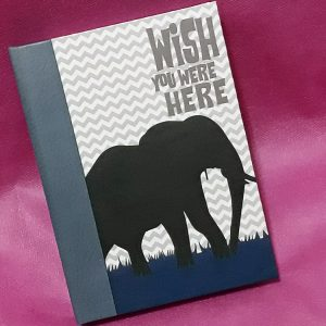 Caderno Wish You Were Here