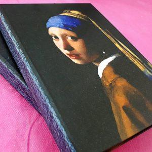 Caderno Moça Com o Brinco de Pérola
