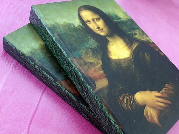 Caderno Mona Lisa