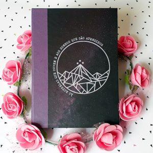 Caderno Corte de Espinhos e Rosas
